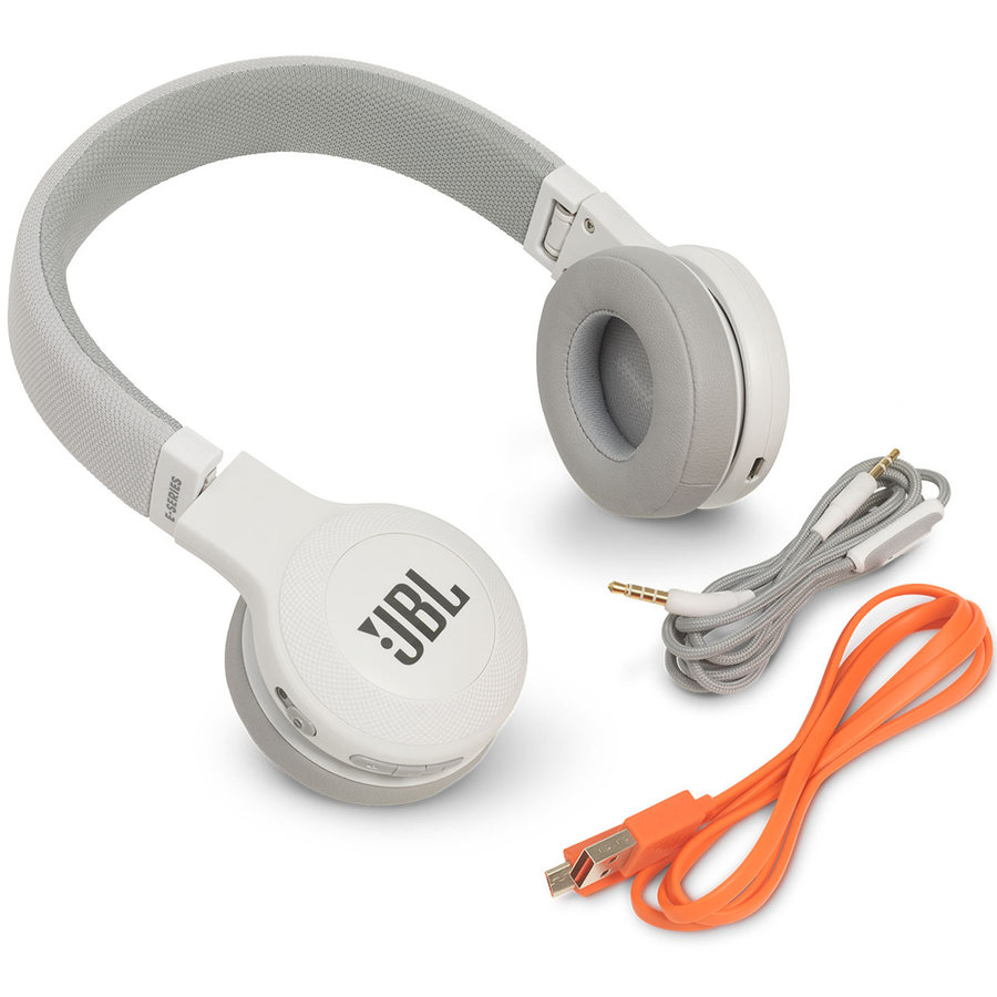 View larger image of JBL E45 On-ear Bluetooth Headphones - White