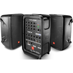 JBL Pro EON208P 8 2-Way PA with Powered 8-Channel Mixer and Bluetooth