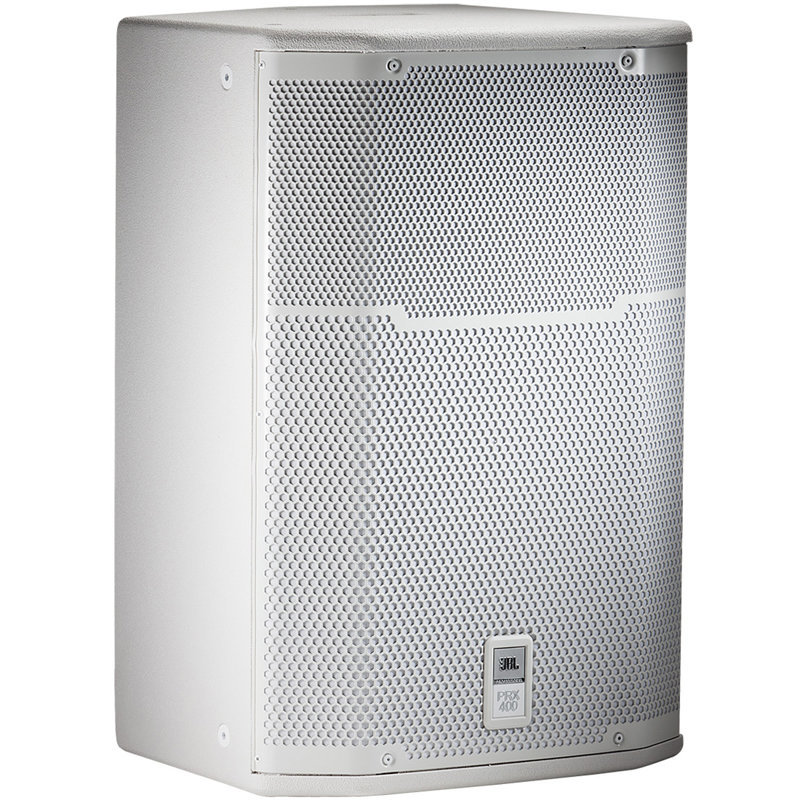 View larger image of JBL PRX415M Two-Way Stage Monitor and Loudspeaker - White