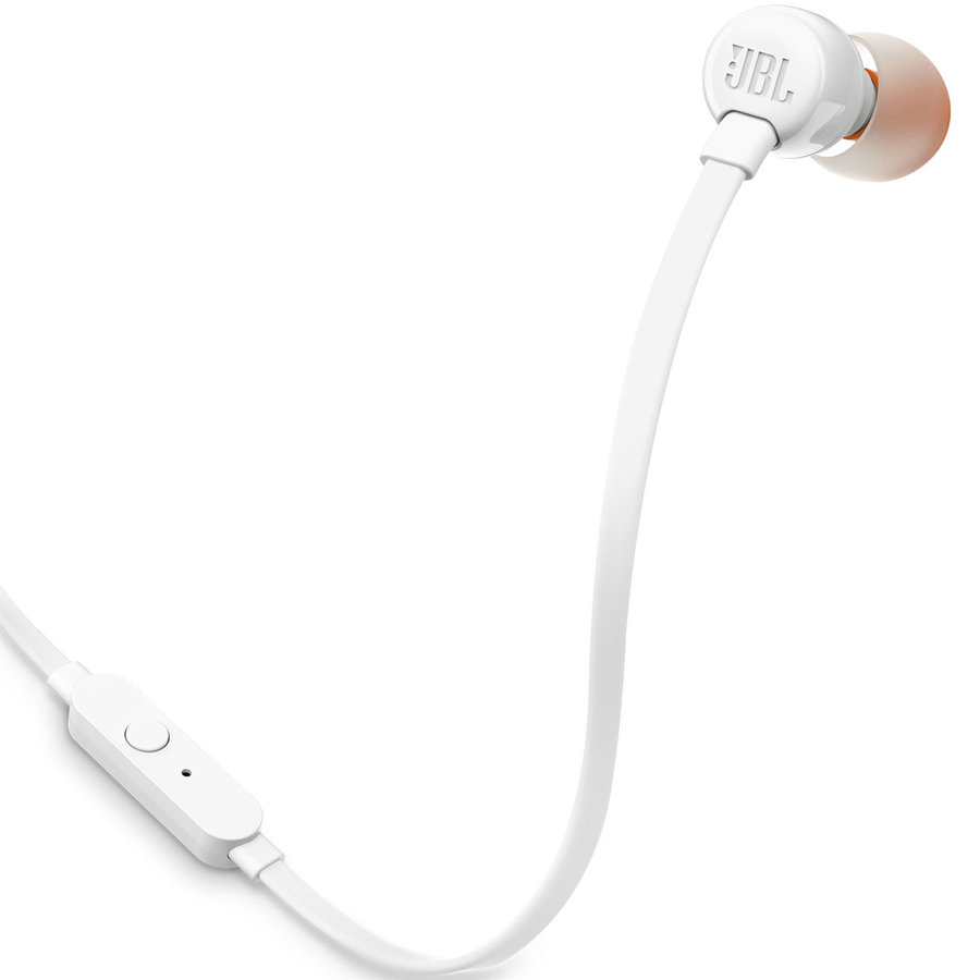 View larger image of JBL T110 In-ear Headphones - White