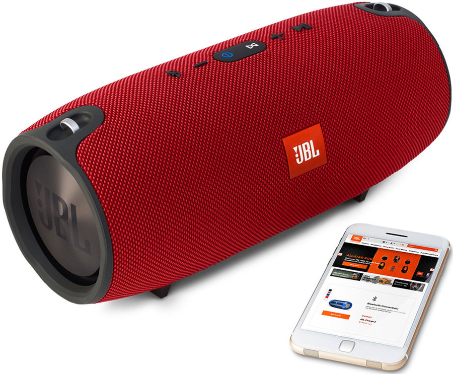 View larger image of JBL Xtreme waterproof Portable Bluetooth Speaker - Red