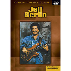 Jeff Berlin - Instructional DVD for Bass Guitar