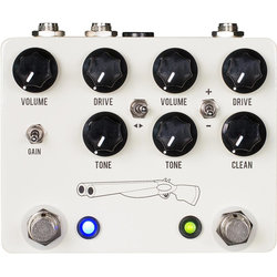 JHS Double Barrel V4 Overdrive/Distortion Pedal