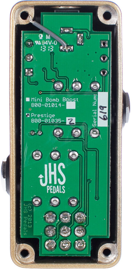 View larger image of JHS Prestige Boost Pedal