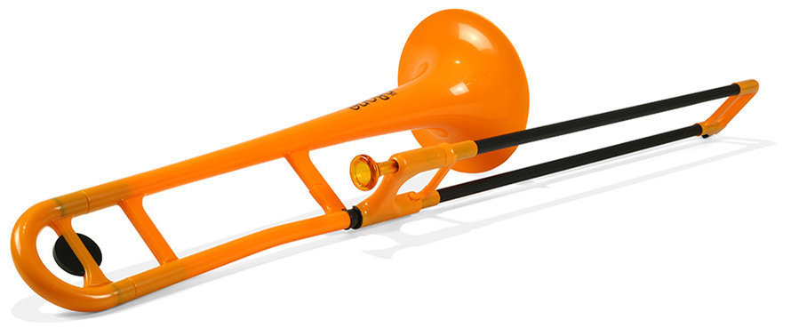 View larger image of Jiggs pBone Plastic Trombone - Orange