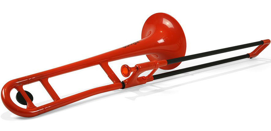 View larger image of Jiggs pBone Plastic Trombone - Red