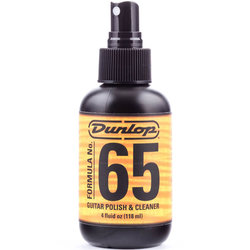 Jim Dunlop 654 Formula No. 65 Guitar Polish and Cleaner