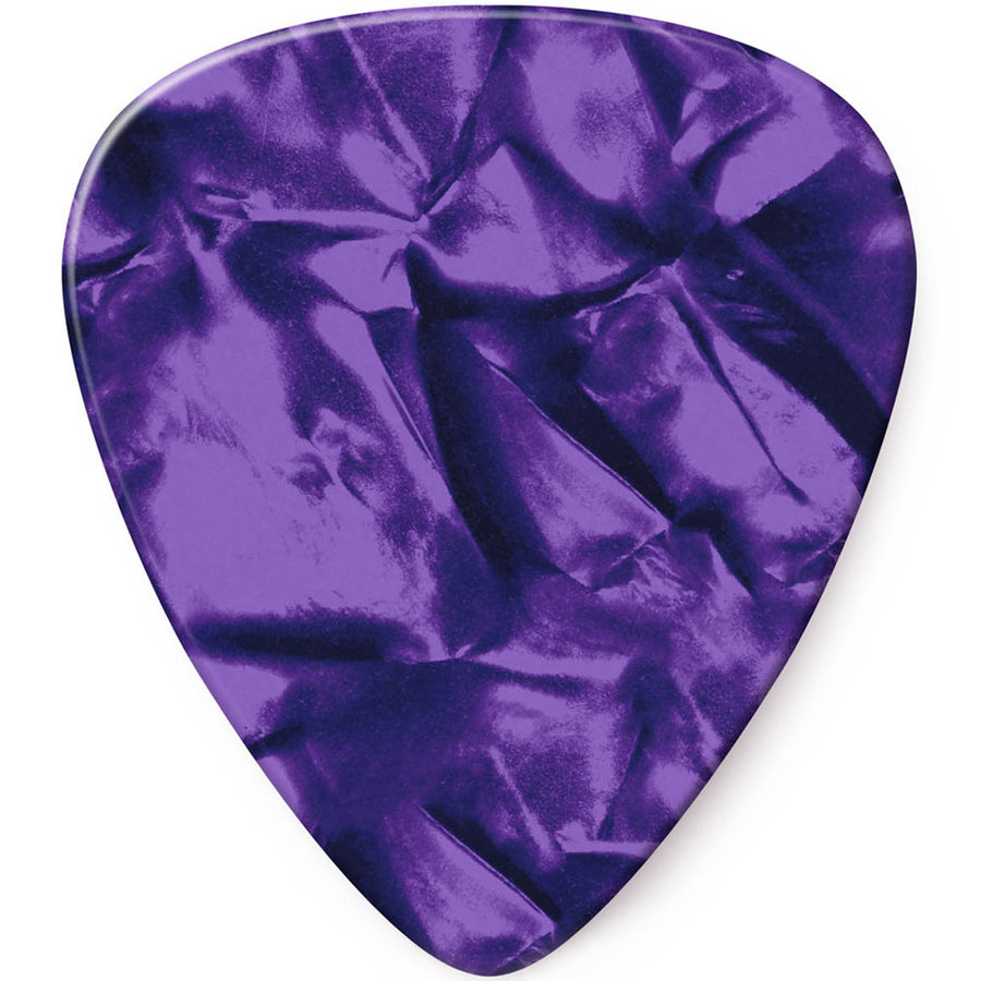 View larger image of Jim Dunlop Celluloid Classic Picks - Medium, Purple Pearl, 12 Pack