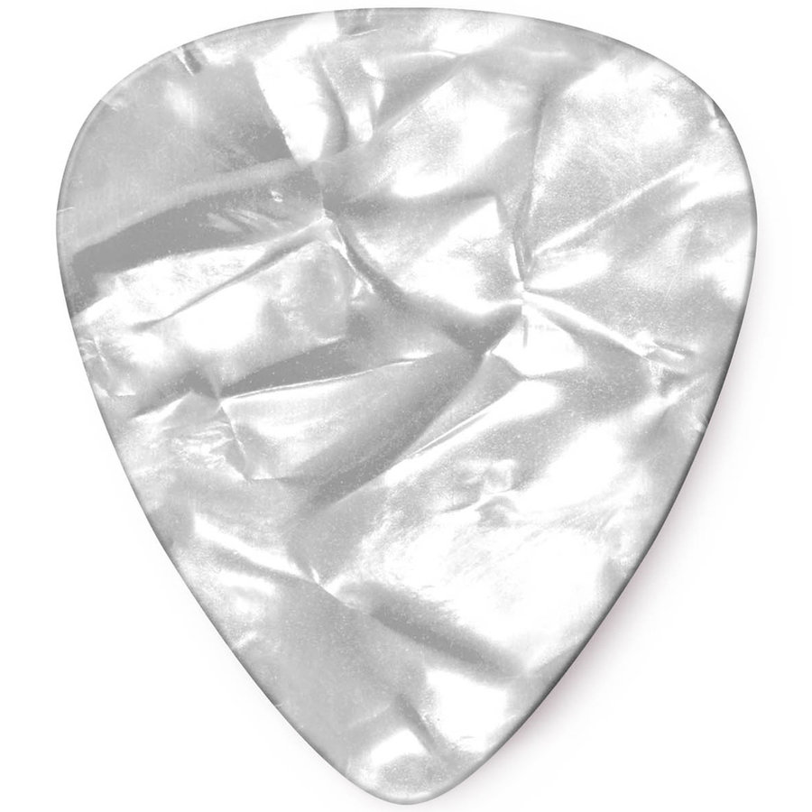 View larger image of Jim Dunlop Celluloid Classic Picks - Thin, White Pearl, 12 Pack