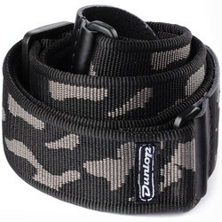 Jim Dunlop Classic Guitar Strap - Cammo Gray