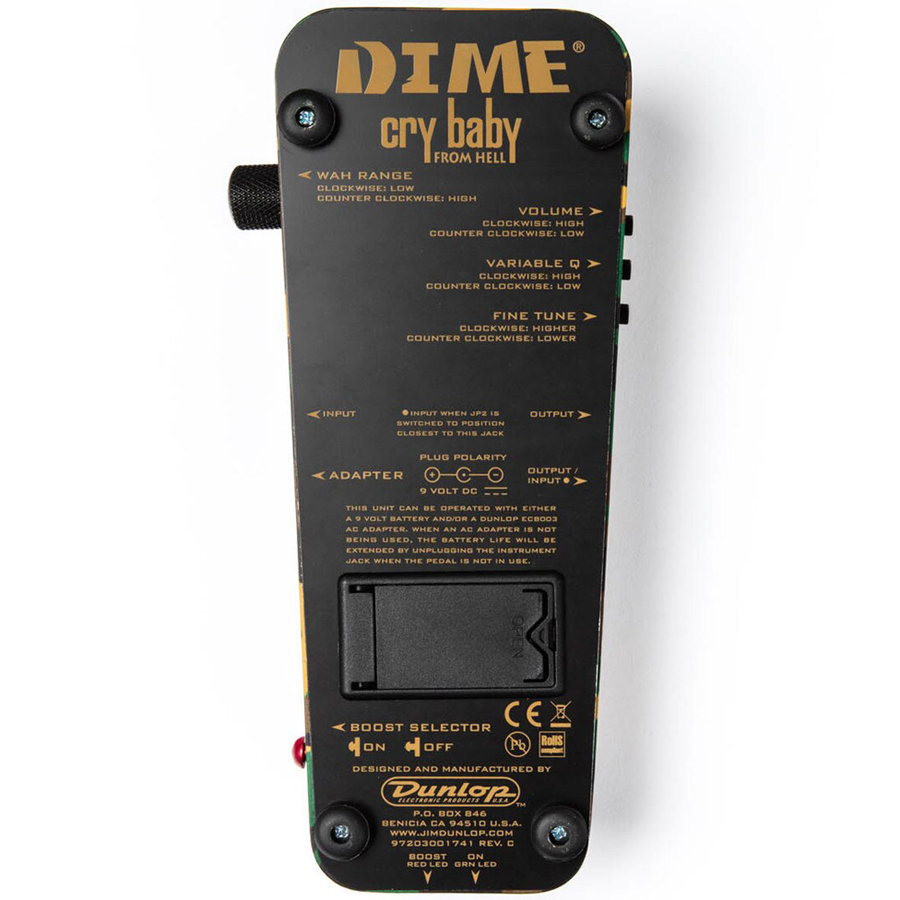 View larger image of Jim Dunlop Dimebag Cry Baby Wah Pedal