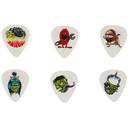 Jim Dunlop Dirty Donny Players Pack - 1.0 mm, 6 Pack