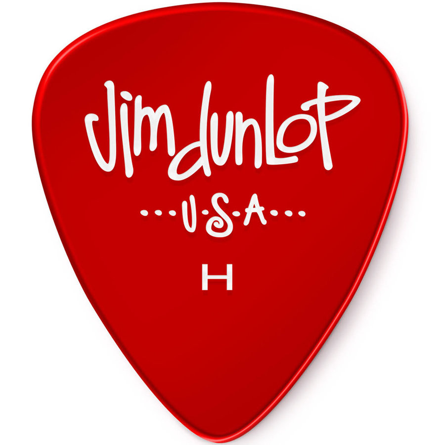 View larger image of Jim Dunlop Gels Players Picks - Heavy, Red, 12 Pack