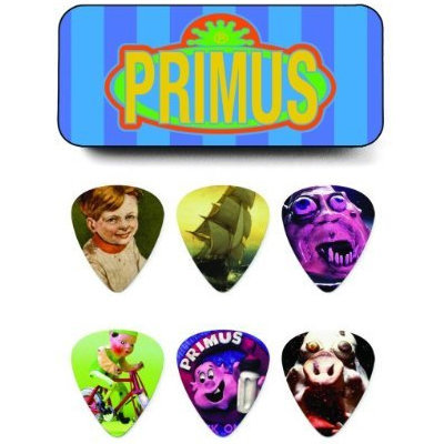 View larger image of Jim Dunlop Primus Tin with 6 Guitar Picks - Heavy