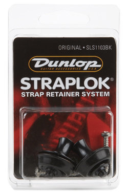 View larger image of Jim Dunlop Straplock Original Set - Black Oxide