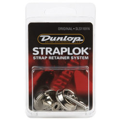 Jim Dunlop Straplock Original Set - Nickel