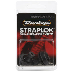Jim Dunlop Straplock Set - Black Oxide
