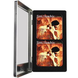 Jimi Hendrix Live at Woodstock Tin Coaster Set - 6 Pack