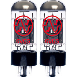 JJ Electronic 6V6S Power Tubes - Matched Pair