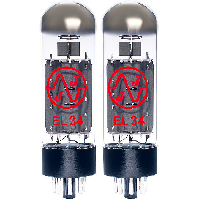 View larger image of JJ Electronic EL34 Power Tubes - Matched Pair