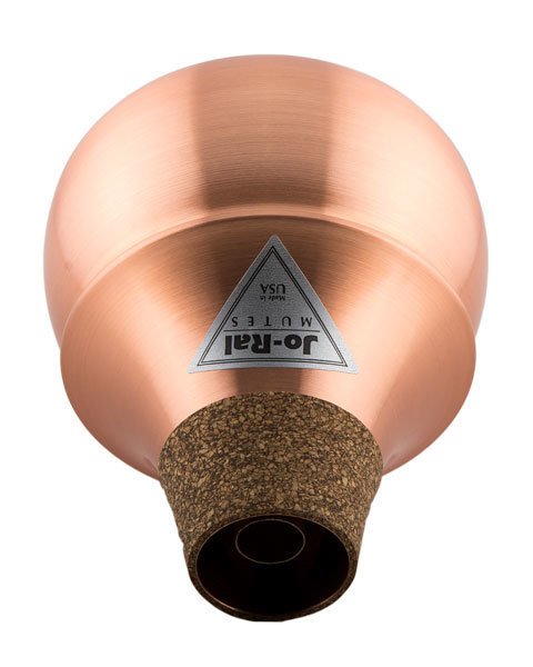 View larger image of Jo-Ral Bubble Trumpet Mute - Copper