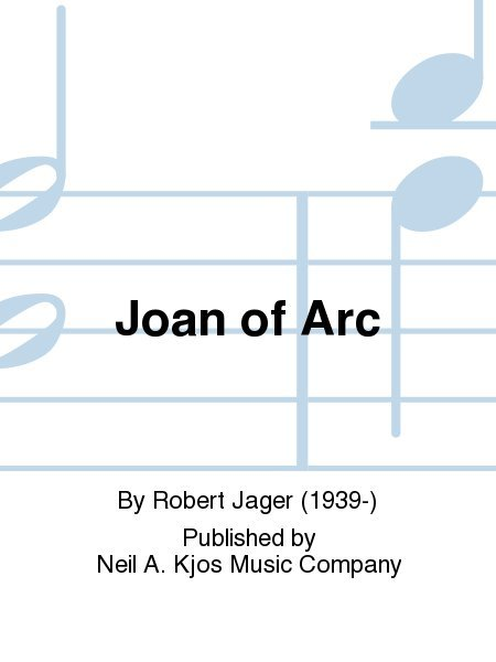View larger image of Joan of Arc - Score & Parts, Grade 5