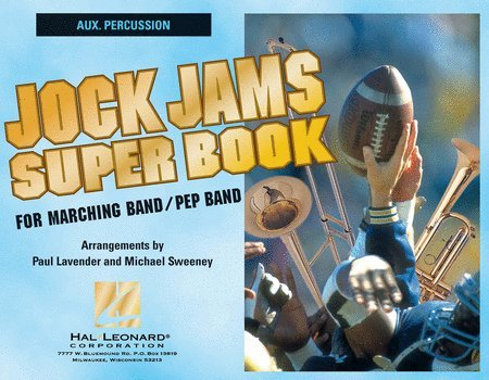 View larger image of Jock Jams Superbook - Aux. Percussion
