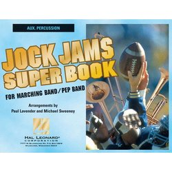 Jock Jams Superbook - Aux. Percussion