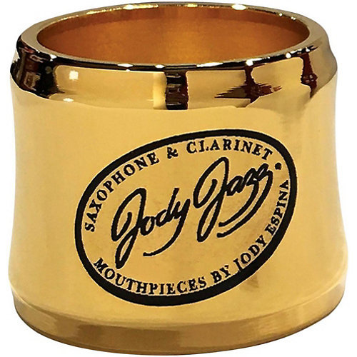 View larger image of Jody Jazz MA1 Select Alto Saxophone Power Ring Ligature - Gold