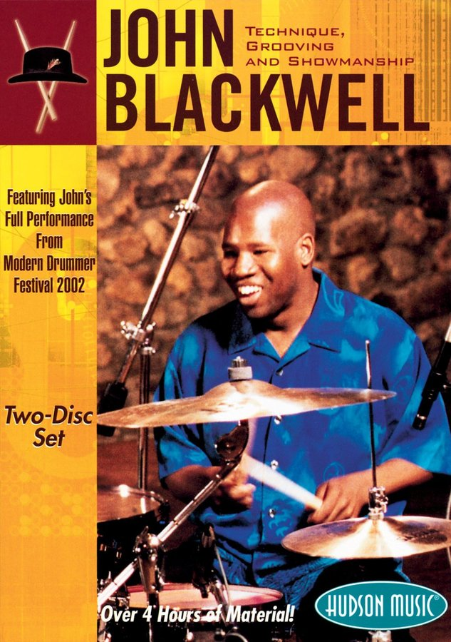 View larger image of John Blackwell – Technique, Grooving and Showmanship (DVD)
