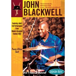 John Blackwell – Technique, Grooving and Showmanship (DVD)