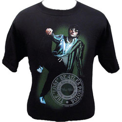 John Lennon Green Jacket T-Shirt - Medium