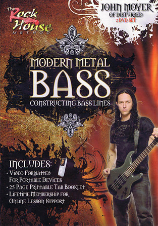 View larger image of John Moyer of Disturbed – Modern Metal Bass
