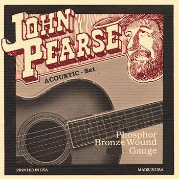 View larger image of John Pearse 550SL Phosphor Bronze Acoustic Guitar Strings - Slightly Light 11-50