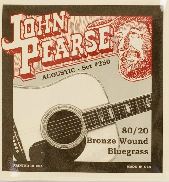 View larger image of John Pearse Bluegrass Acoustic Guitar Strings