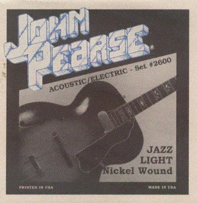 View larger image of John Pearse - JP2600 Electric Guitar Strings - Jazz Light