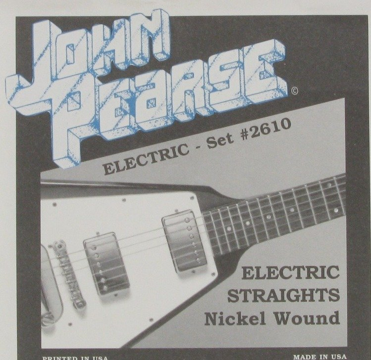 View larger image of John Pearse - JP2610 Electric Guitar Strings - Electric Straights