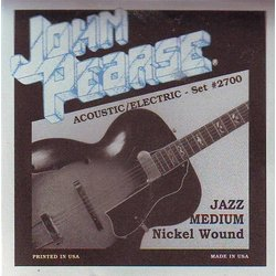 John Pearse - JP2700 Electric Guitar Strings - Jazz Medium