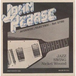 John Pearse - JP2750 Electric Guitar Strings - Jazz Swing