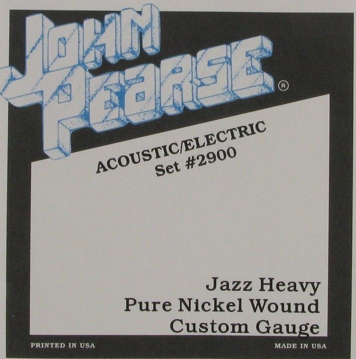 View larger image of John Pearse - JP2900 Electric Guitar Strings - Jazz Heavy