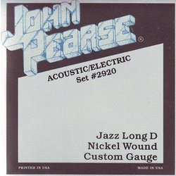 John Pearse - JP2920 Electric Guitar Strings - Jazz Long D