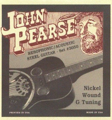 View larger image of John Pearse - JP3050 Resophonic Guitar Strings - Uncle Josh - G Tuning