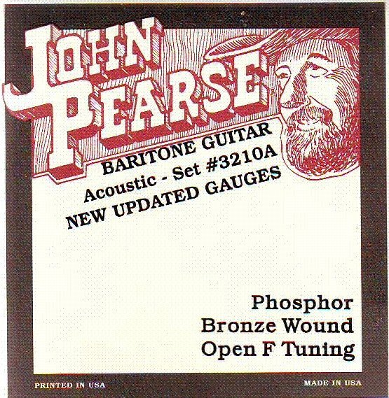 View larger image of John Pearse - JP3210A Acoustic Baritone Strings - Open F
