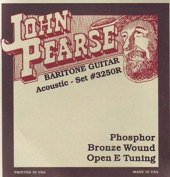 View larger image of John Pearse - JP3250R Resophonic Baritone Strings - Open E