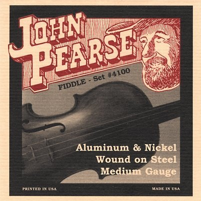 View larger image of John Pearse - JP4100 Flat Wound Fiddle Strings