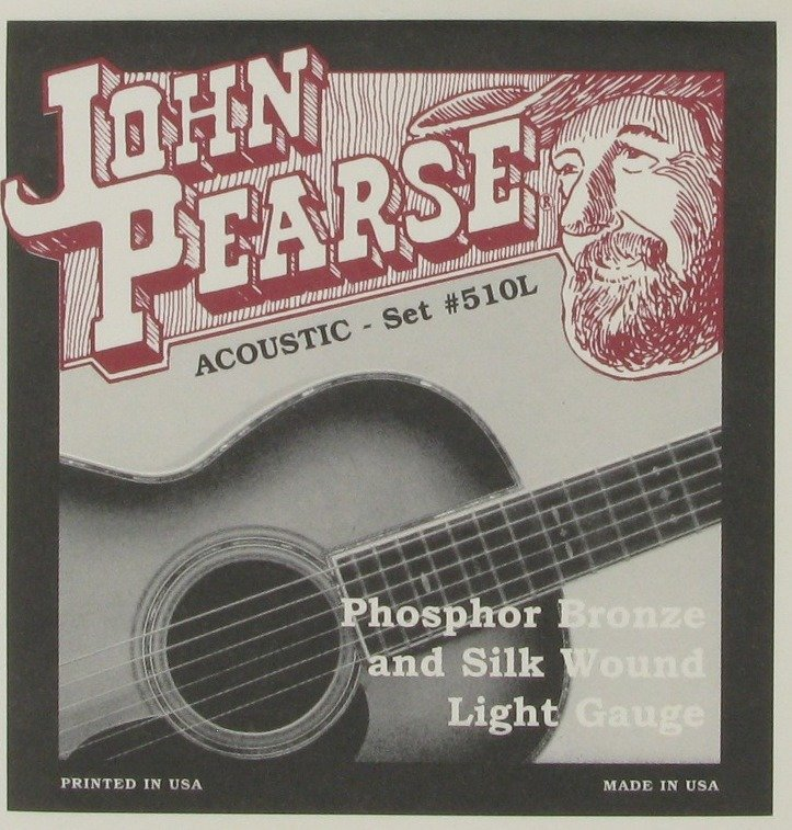 View larger image of John Pearse - JP510L Acoustic Silk Strings - Light