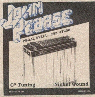 View larger image of John Pearse - JP7200 Pedal Steel Strings - C6 Tuning