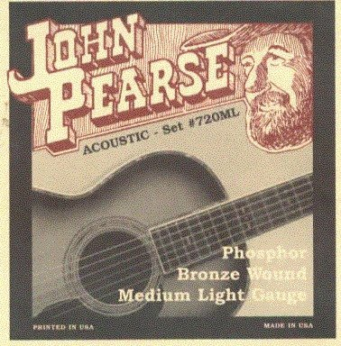View larger image of John Pearse - JP720ML Acoustic Strings - Medium Light