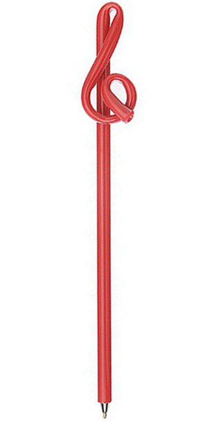 View larger image of Jr. Bent G-Clef Pen - Red