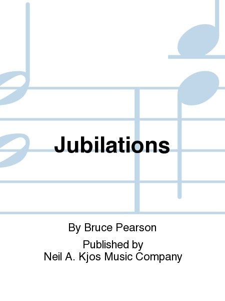 View larger image of Jubilations - Score & Parts, Grade 2